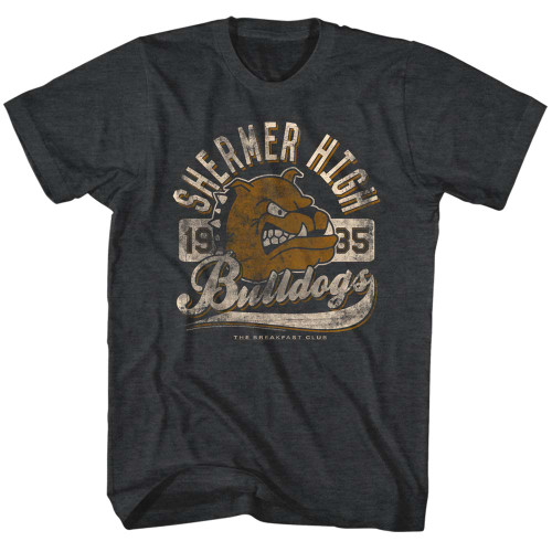 Image for The Breakfast Club T-Shirt - Shermer High Bulldogs