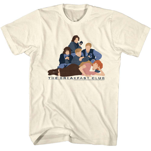 Image for The Breakfast Club T-Shirt - Vector Club
