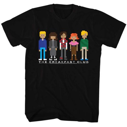Image for The Breakfast Club 8 Bit Girls T-Shirt