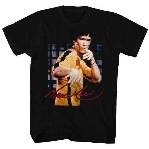 Image for Bruce Lee Jumpsuit Stance T-Shirt