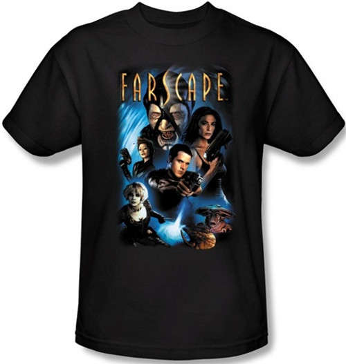 Image Closeup for Farscape Comic Cover T-Shirt