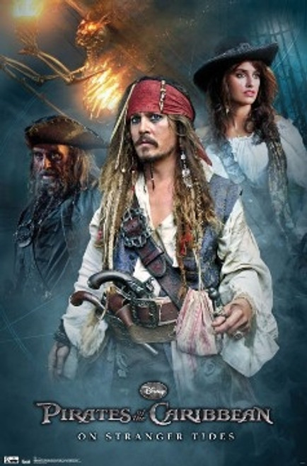 Image for Pirates of the Caribbean Poster - 4 Group Poster