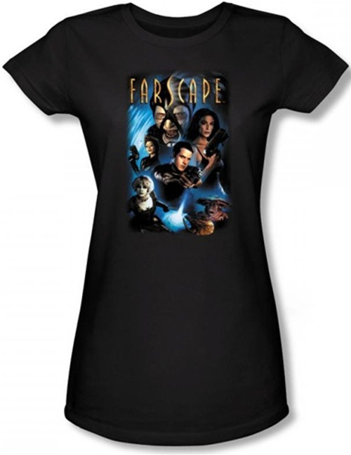 Image for Farscape Comic Cover Girls Shirt