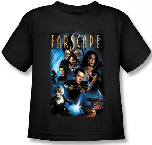 Image for Farscape Comic Cover Kid's T-Shirt