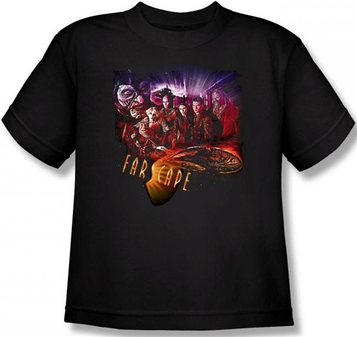 Image for Farscape Graphic Collage Youth T-Shirt