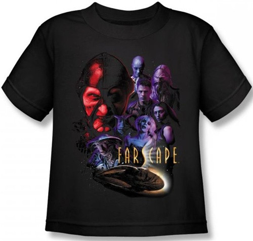 Image for Farscape Criminally Epic Kid's T-Shirt