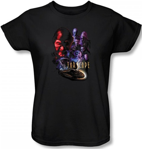 Image for Farscape Criminally Epic Woman's T-Shirt