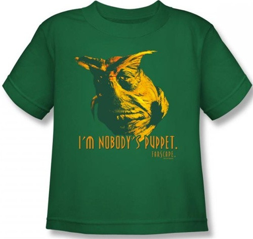 Image for Farscape Nobody's Puppet Kid's T-Shirt