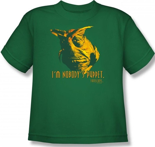 Image for Farscape Nobody's Puppet Youth T-Shirt