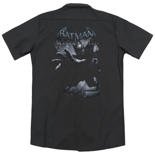 Image for Batman Arkham Origins Dickies Work Shirt - Out of the Shadows