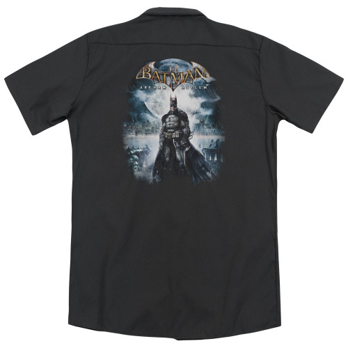 Image for Batman Arkham Asylum Dickies Work Shirt - Game Cover