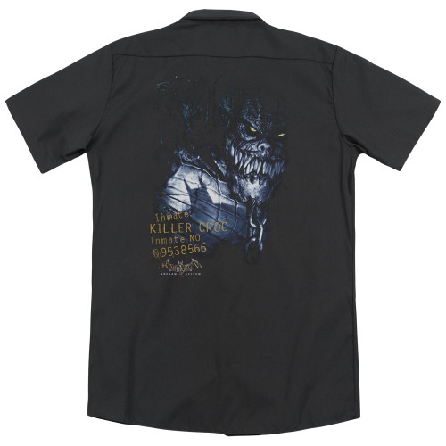 Image for Batman Arkham Asylum Dickies Work Shirt - Killer Croc