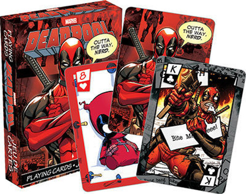 image for Deadpool Playing Cards