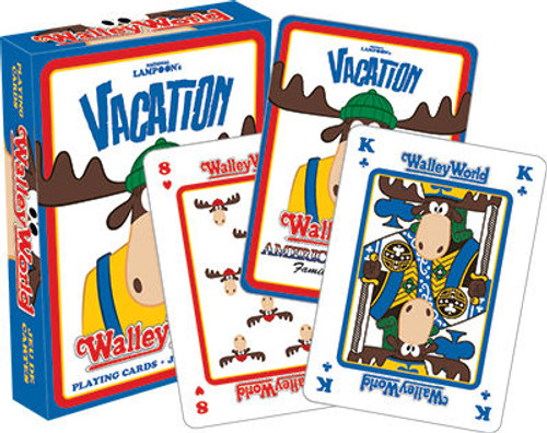 Image for Vacation Wally World Playing Cards