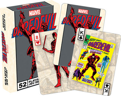 Image for Daredevil Retro Playing Cards