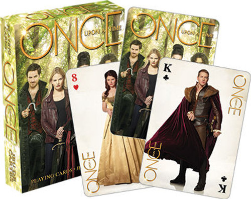 Image for Once Upon a Time Green Playing Cards