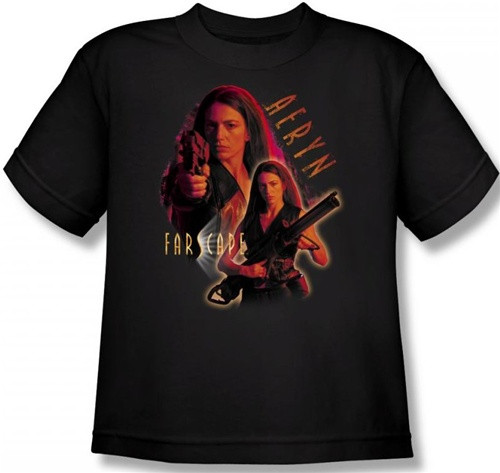 Image for Farscape Aeryn Youth T-Shirt