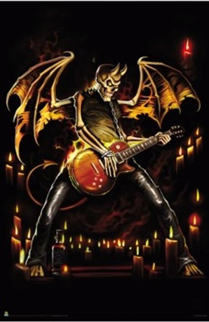 Image for Guitar Hero Poster - Bone Devil