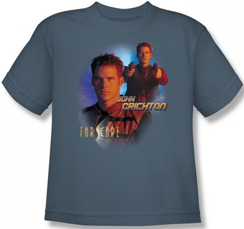 Image for Farscape John Crichton Youth T-Shirt