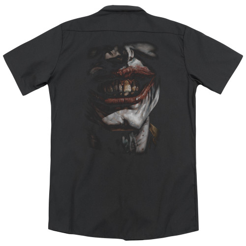 Image for Batman Dickies Work Shirt - Smile of Evil
