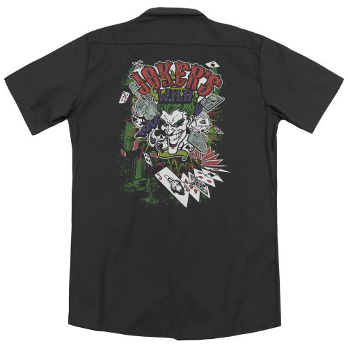 Image for Batman Dickies Work Shirt - Jokers Wild