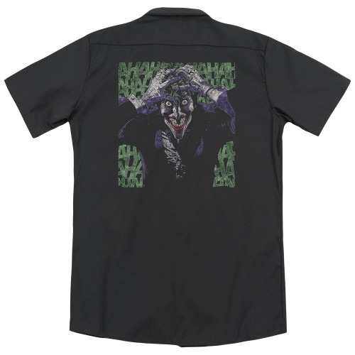 Image for Batman Dickies Work Shirt - Insanity