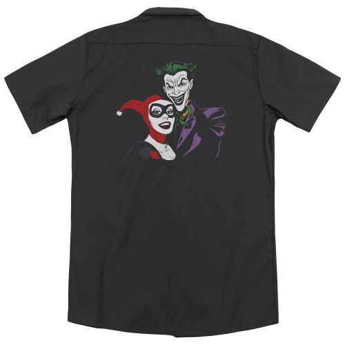 Image for Batman Dickies Work Shirt - Joker & Harley