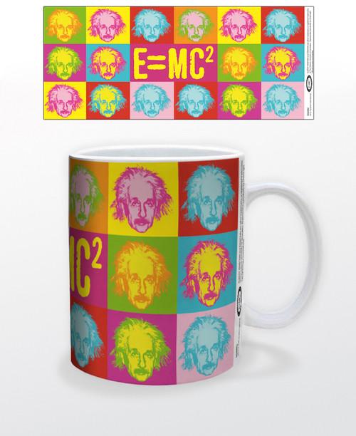 Image for Albert Einstein Pop Art Coffee Mug