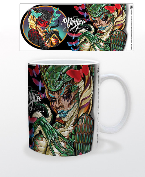 Image for James Danger Cobra Girl Coffee Mug