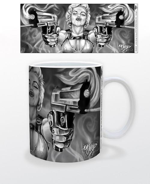 Image for James Danger Double Guns Coffee Mug