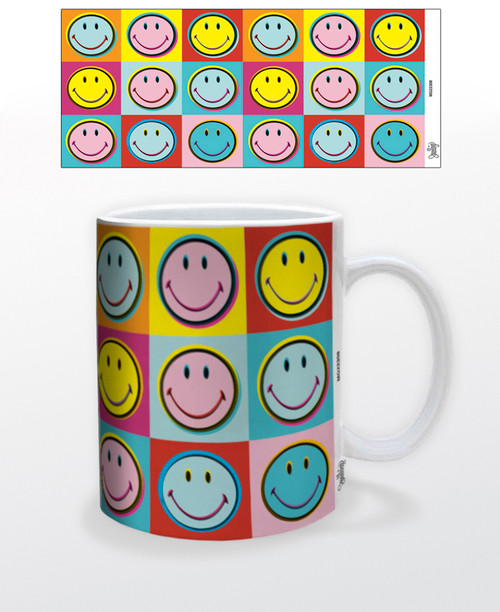 Image for Smiley Pop Art Coffee Mug