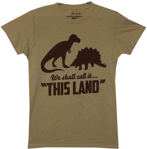 """Firefly Girls T-Shirt - We Shall Call it """"This Land"""""""