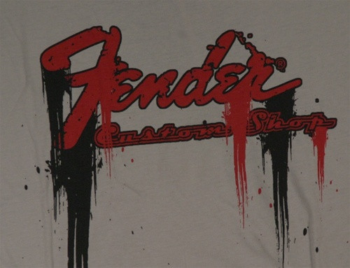 Image for Fender Grey T-Shirt