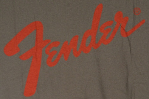 Image for Fender Charcoal T-Shirt