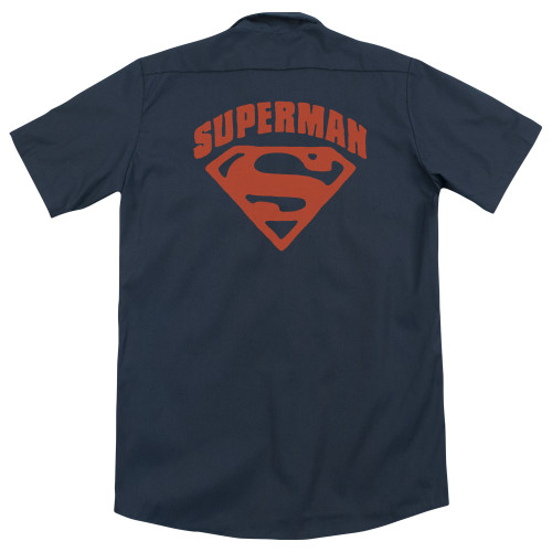 Image for Superman Dickies Work Shirt - Super Shield