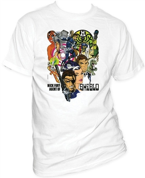 Image for Nick Fury T-Shirt - Agent of S.H.I.E.L.D.