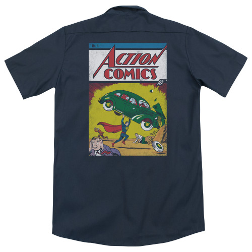 Image for Superman Dickies Work Shirt - Action No. 1