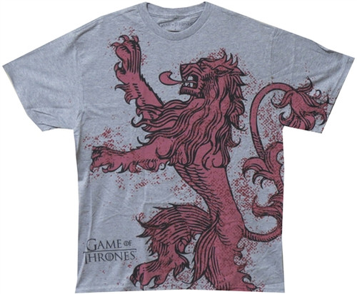 Image Closeup for Game of Thrones Lannister Logo T-Shirt
