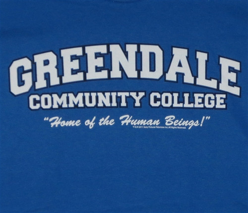 Image for Community Greendale College Home of the Human Beings T Shirt