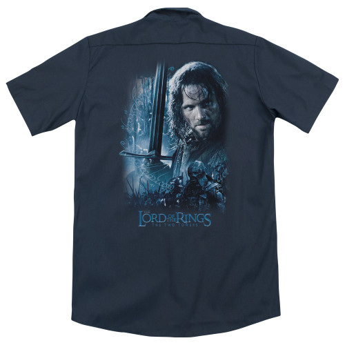 Image detail for Lord Of The Rings Dickies Work Shirt - King In The Making