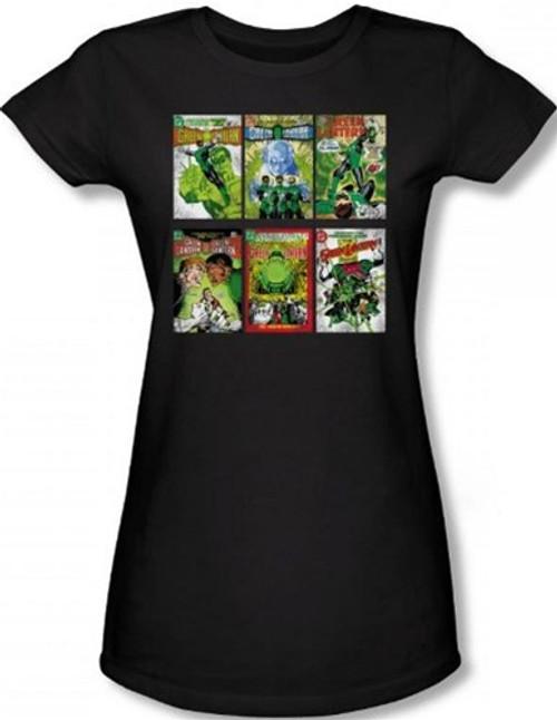 Image for Green Lantern Covers Girls Shirt