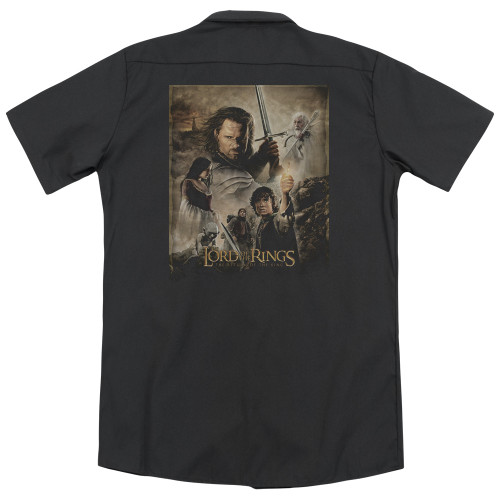 Image detail for Lord Of The Rings Dickies Work Shirt - Return of the King Poster