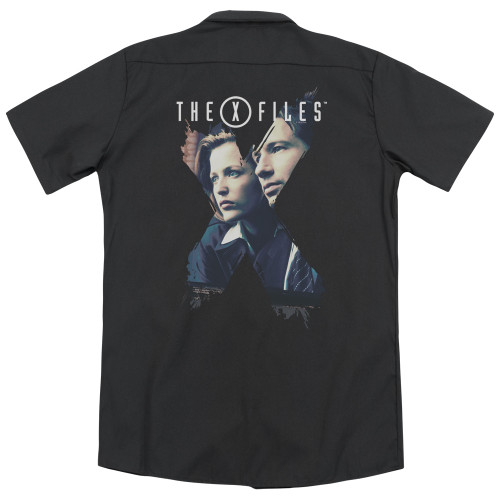 Image for X Files Dickies Work Shirt - X Agents