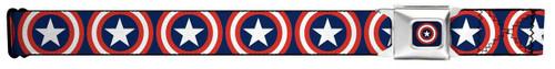 Image for Captain America Seatbelt Buckle Belt - Repeat