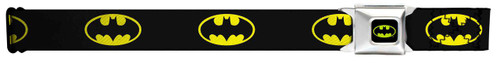 Image for Batman Seatbelt Buckle Belt - Classic Logo