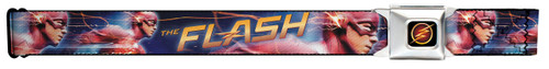 Image for Flash TV Show Seatbelt Buckle Belt - Running