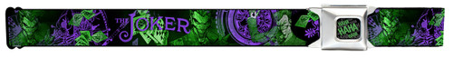 Image for Joker Seatbelt Buckle Belt - Card Flipping