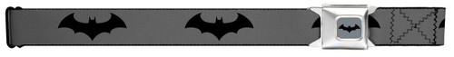 Image for Batman Seatbelt Buckle Belt - Baterang Logo