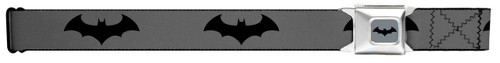 Image for Batman Seatbelt Buckle Belt - Baterang Logo
