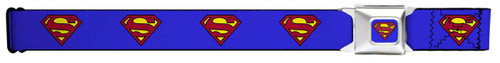 Image for Superman Seatbelt Buckle Belt - Classic Logo